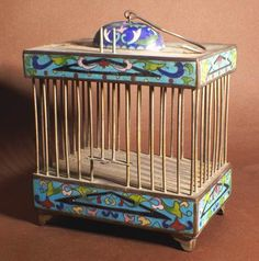 cricket cages   Oriental Products: Large Metal Chinese Cricket Cage - Heavy!