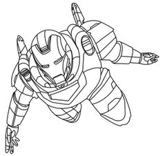 iron man the avengers best coloring pages - Avengers Printable Coloring Pages