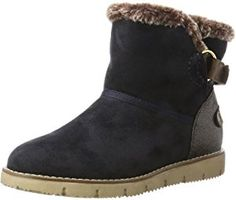 TOM TAILOR Damen 3793103 Schlupfstiefel Toms, All About Shoes, Tom Tailor, Partner, Ugg Boots, Wedges, Ankle, Sandals, Heels