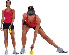 Want to Burn Some Mega Calories? Try the Bootcamp Challenge: Sliding Side Lunge