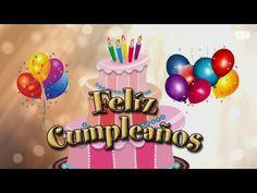 Feliz Cumpleaños animado. Feliz cumple instrumental. Felicitación de cumpleaños para dedicar - YouTube