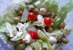 13+1 laktató saláta kevesebb mint 300 kalóriából | NOSALTY Feta, Potato Salad, Food Processor Recipes, Cabbage, Rice, Potatoes, Chicken, Vegetables, Ethnic Recipes