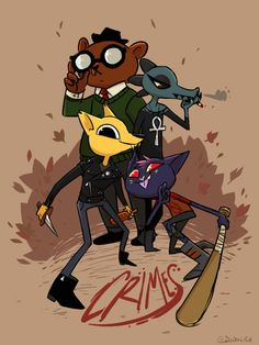 Night in the Woods by DIN0LICH