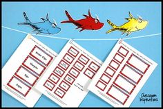 Teacher Toolbox Labels – FREE – Coordinates with Seuss-lik