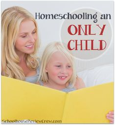 Homeschooling an Only Child | TOS Review Crew members share their thoughts and tips