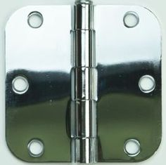 "Don-Jo PB73535-US26 3.5"" x 3.5"" Residential Hinge, 5/8"" Radius, Bright Chrome Finish by Don-Jo. $3.25. Door Hinge. Save 64% Off!"