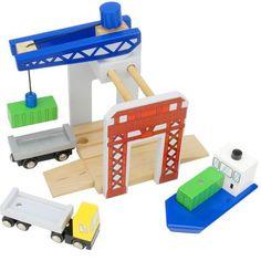 Imaginarium Cargo Terminal Set for Wooden Trains
