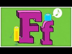 ABC Song: The Letter F  #Education #Kids #Alphabet #Language #ABC