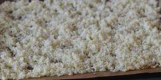 Blomkålsris i ovn Krispie Treats, Rice Krispies, Lchf, Broccoli, Cauliflower, Low Carb, Health, Desserts, Inspiration