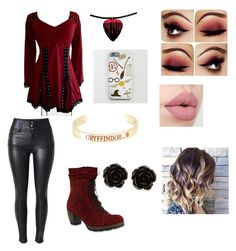 """Untitled #85"" by olivia-huffer on Polyvore featuring Warner Bros., Wolky and Erica Lyons"