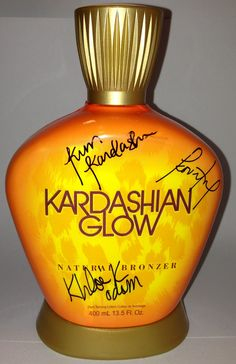 This signed bottle of Kardashian Glow Natural Bronzer could be yours! Enter our Facebook contest to win!