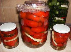 Gogosari murati Stuffed Peppers, Vegetables, Canning, Salads, Stuffed Pepper, Vegetable Recipes, Stuffed Sweet Peppers, Veggies