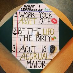 Accounting Graduation Cap