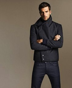 mens editorial.  is there room for me in those skinny jeans?? BAH HA...family joke of how i'm the weird one who prefers men in skinny jeans :)   i dont care-i like a certain man who wears them & wears the well :) :)