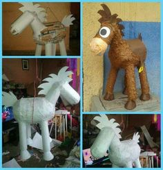 1 million+ Stunning Free Images to Use Anywhere Paper Mache Clay, Paper Mache Crafts, Toy Story Birthday, Toy Story Party, Horse Pinata, Toy Story Coloring Pages, Paper Mache Animals, Anna Disney, Disney Cross Stitch Patterns