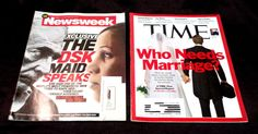 Arab Spring and other interesting news! MARRIAGE INFIDELITY DOMINIQUE STRAUSS-KAHN TIME NEWSWEEK NEWS EGYPT POLITICS DSK - on eBay! $4.98
