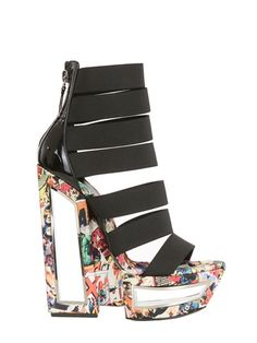 "CASADEI - SANDALI ""FASHION SUPER HERO"" ED. LIMITATA 150MM"