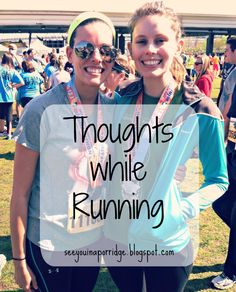 Thoughts while running. See You In A Porridge #running #bloggers