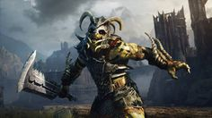 """Middle earth: Shadow of Mordors Nemesis System -this was """"Lugdash Warmonger"""" in my game"""