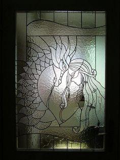 Dragon Themed Item-Door Window