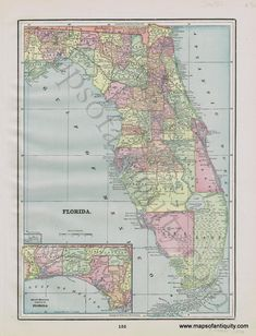 10 Best Florida Old Maps images