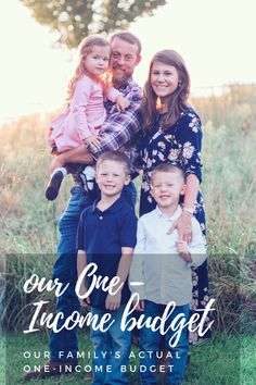 Our Actual One-Income Budget for our Family of Five - Jessi Fearon - Finance tips, saving money, budgeting planner Ways To Save Money, Money Tips, Money Saving Tips, One Income Family, Family Of Five, Life On A Budget, Family Budget, Family Kids, Savings Planner