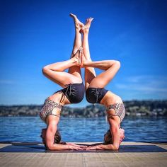 It's rare and wonderful to find someone that mirrors you and helps you bring out the best things you have inside This post goes to all the amazing friends that make our life a little sweeter😊 @robinmartinyoga❤️❤️❤️