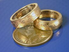COIN RING - (( Canadian Large Penny )) - (Choose The Ring Size You Want)…