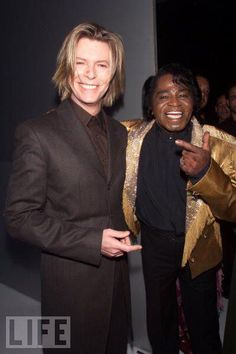 Bowie & James Brown