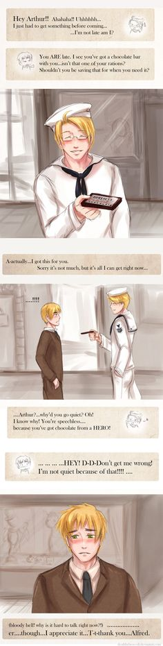 APH: chocolate from a hero by deathbybroccoli.deviantart.com on @deviantART
