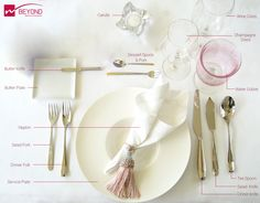 "Here is the basic Table Cutlery for your ‪ day! ""Unmatched Elegance at your Table. Shimmer Lights, Dessert Spoons, Butter Knife, Cutlery, Special Day, Wine Glass, Champagne, Place Card Holders, Plates"