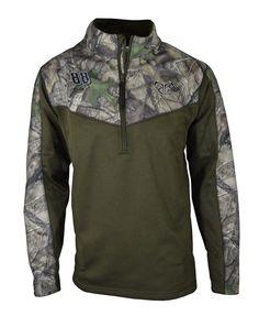 2500b36c361022 TT481 - Camo Grid Fleece 1 4 Zips