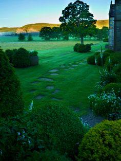 Yorkshire Dales garden path