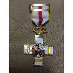 f73f589d0ed Medalla Mérito Militar Distintivo Amarillo Cuerpo Nacional De Policia