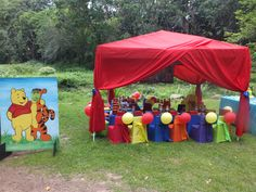 Winnie the Pooh themed set-up