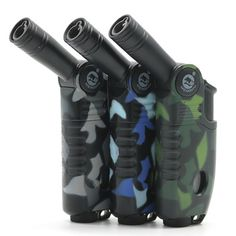 MF263 Camouflage Torch JET 1300 elbow barbecue  BBQ lighter  Price: 5.86 USD