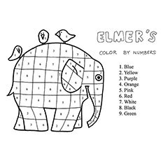 Top 20 Free Printable Elephant Coloring Pages Online Elephant Coloring Page Elmer The Elephants Elmer