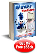 """""""Winter Wonderland: How to Make 8 Snowflakes, Snow Crafts, and Snow Projects"""" eBook 