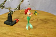 Hallmark Keepsake Ornament 1997 Disney's Little Mermaid Ariel Flounder Sebastian