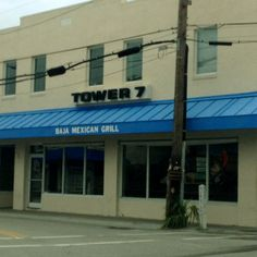 Tower 7 Mexican Grill & coffee bar too! Wrightsville Beach