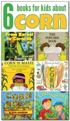 A Guide to Teaching Your Child to Read - Books about corn for kids: These six childrens books about corn will help your kids understand corns history in the Americas, how it is grown, what foods are made from corn, and much more. Fall Preschool, Preschool Books, Preschool Library, Thanksgiving Preschool, Autumn Activities, Preschool Activities, Language Activities, Farm Theme, Early Literacy