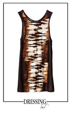 Stampa safari dai colori caldi e naurali. Top #pleinsudjeanius discove: http://bit.ly/1p7yzkb