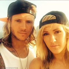 Ellie Goulding on romantic Ibizan holiday with Dougie Poynter