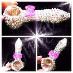 Hey, I found this really awesome Etsy listing at https://www.etsy.com/listing/179778010/bling-kitty-bow-glass-pipe