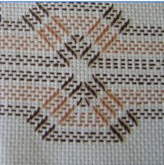 Discover thousands of images about Huck Embroidery / Punto Yugoslavo / Swedish Weaving / Bordado Vagonite Swedish Embroidery, Hardanger Embroidery, Ribbon Embroidery, Embroidery Stitches, Embroidery Patterns, Cross Stitches, Swedish Weaving Patterns, Loom Patterns, Huck Towels