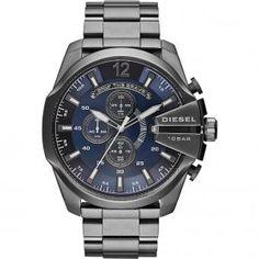 3e05bc118fc8 Diesel dz4329 Gunmetal Chronograph Quartz Men s Watch. Display Type Analog  Clasp deployant-clasp Case