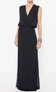 Calvin Klein Collection Black Dress   VAUNTE