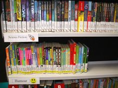 Arranging library fiction by genre | Services to Schools