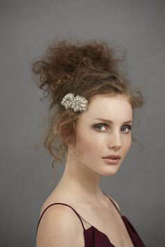 entwined paths clip in ineutral motif by ambre babzoe from bhldn