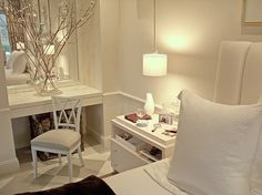 Simple white room